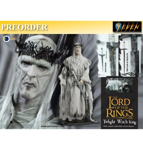 PREORDER: Asmus Toys 1/6 LOTR Twlight Witch-King: Boxset